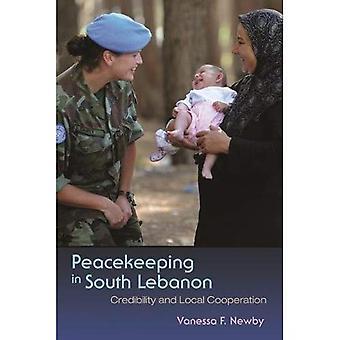 Fredsbevarande i södra Libanon: trovärdighet och lokalt samarbete (Syracuse studier om fred och konfliktlösning)