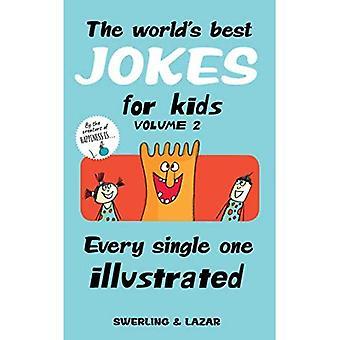 Verdens beste vitser for barn kvantum 2: hver eneste illustrert