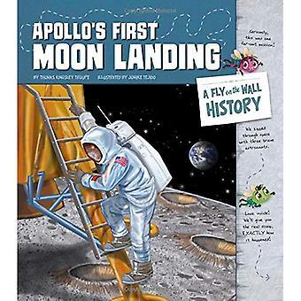Erste Mondlandung von Apollo: eine Fliege an der Wand-Geschichte