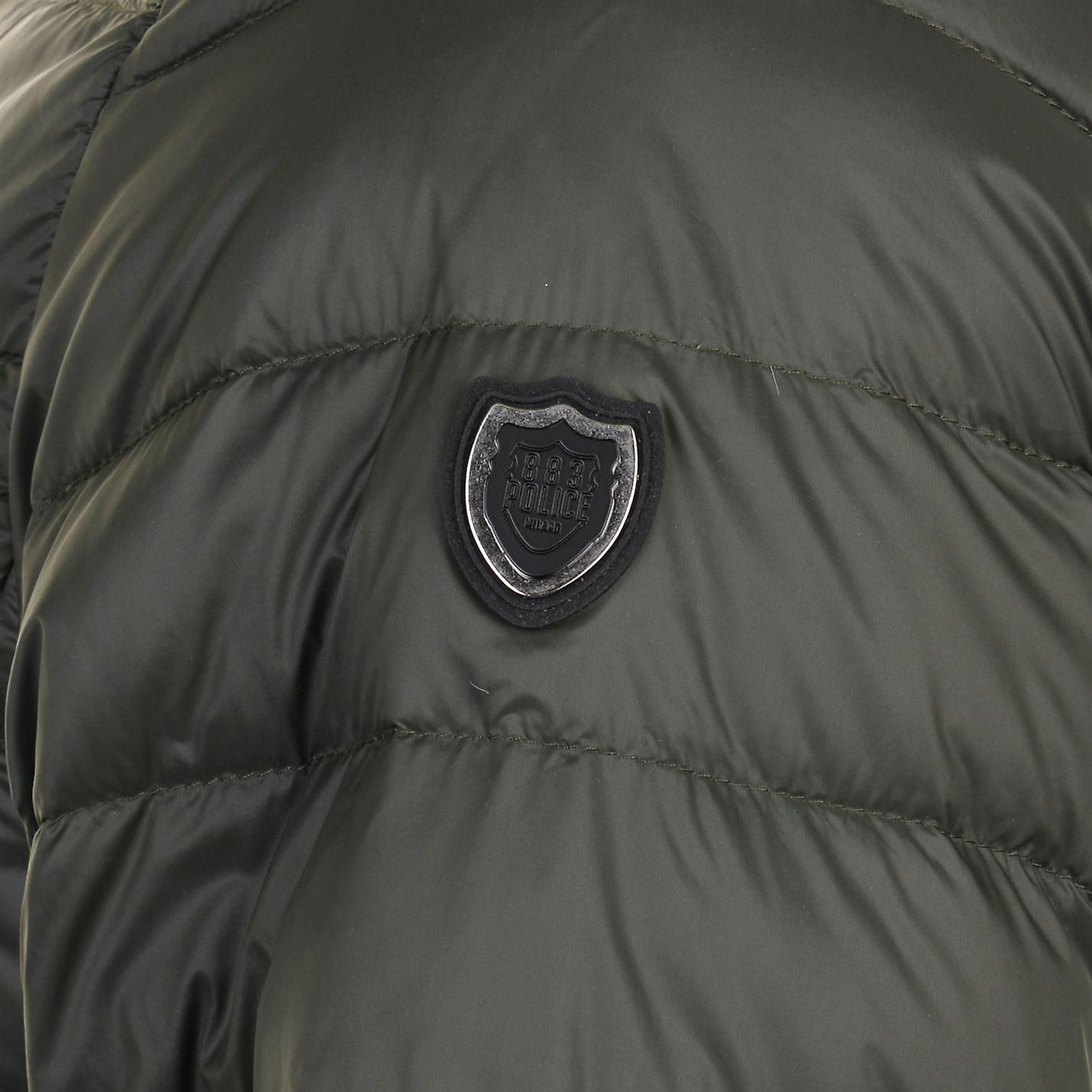 883 Police Mens Downer Zip Hooded Jacket