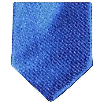 Gravata de poliéster magro Neckwear Knightsbridge - azul Royal