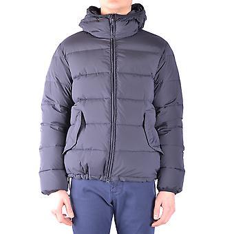 Aspesi Ezbc067073 Men's Blue Nylon Down Jacket