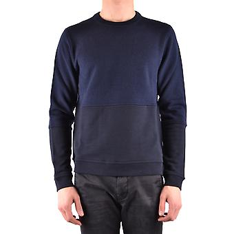 Paul Smith Ezbc083006 Mænd's Blå Bomuldsweater