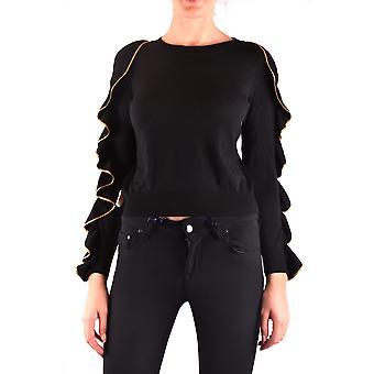 Filosofia Por Lorenzo Serafini Ezbc087012 Women's Black Wool Sweater