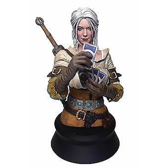 The Witcher 3: Wild Hunt bustul Ciri joc Gwent de la polystone (rasina artificiala), de Dark Horse, în ambalaj cadou.