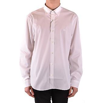 Burberry Ezbc001194 Heren's Wit Katoen Shirt