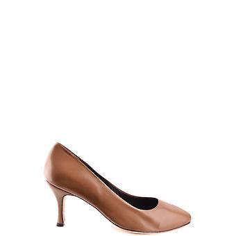 L'arianna Ezbc226002 Women's Brown Leather Pumps