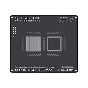 QianLi 3D BGA Stencil Template - A9 CPU Module - iPhone 6S - E300