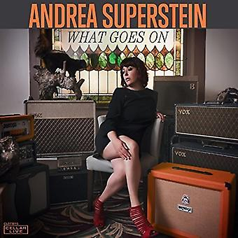 Andrea Superstein - What Goes on [CD] USA import