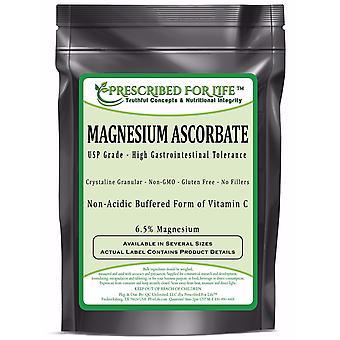 Ascorbato de magnésio-natural USP tamponado vitamina C pó cristalino-6,5% mg