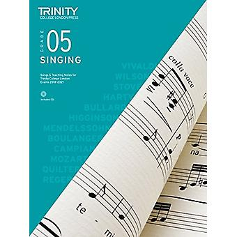 Trinity College London Singing Grade 5 2018-2021 - 9780857366252 Book