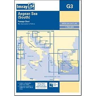 Imray Chart G3 - Aegean Sea (South) by Imray - 9781846236389 Book