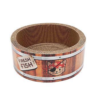 Catit Play Pirates Barrel Scratcher - Large