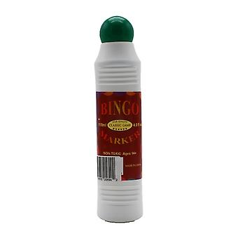 Bingo Marker/Dauber, 4.0 FL Oz. Bottle, Green