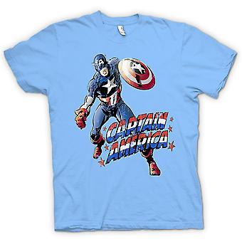 Dla dzieci T-shirt - Kapitan Ameryka - komiks bohater