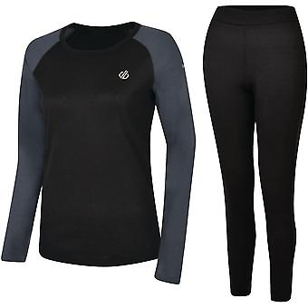 Dare 2b Womens Exchange Quick Dry Wicking Baselayer Set