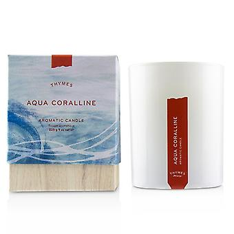 Thymes Aromatic Candle - Olive Leaf 9oz