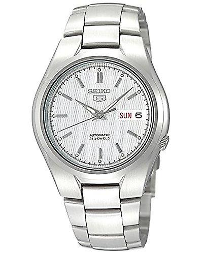 Seiko 5 Automatic Silver Dial Stainless Steel Men's Watch SNK601K1