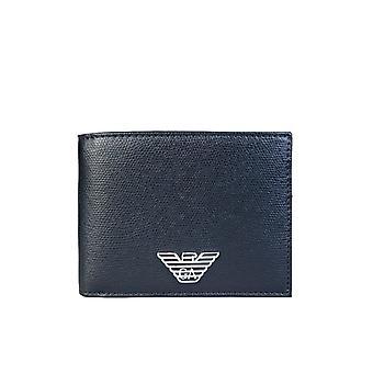 Emporio Armani Portefeuille Bifold 5 Crédit Card Holder Slots Y4r165 Yla0e