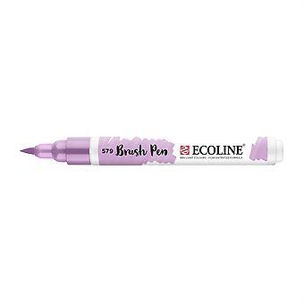 Talens Ecoline Liquid Watercolour Brush Pen - 579 Pastel Violet