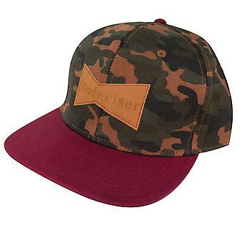 Budweiser Camo Butterfly Logo Hat