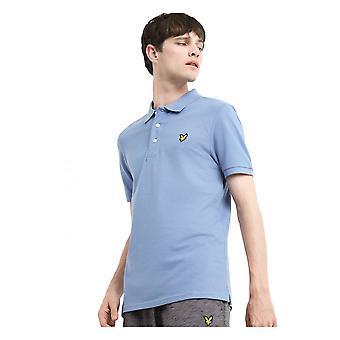 Lyle & Scott Slim Stretch Polo Shirt Stone Blue