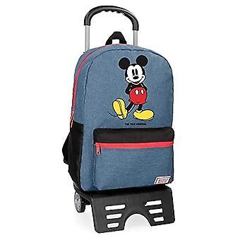 حقيبة ظهر زرقاء من ديزني - 42 سم - 21.5 لتر - أزرق