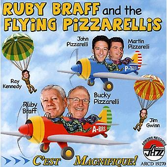 Ruby Braff & the Flying Pizzarellis - C'Est Magnifique [CD] USA import