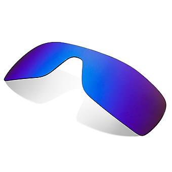 Polarized Replacement Lenses for Oakley Batwolf Sunglasses Blue Anti-Scratch Anti-Glare UV400 by SeekOptics
