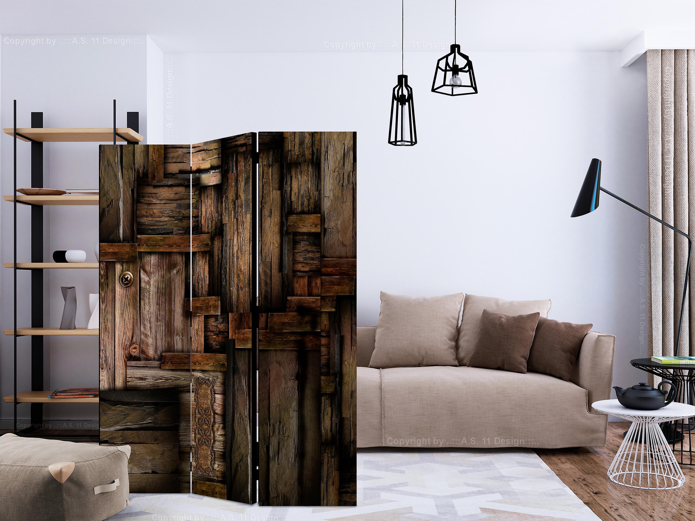 Paravent 3 volets - Wooden puzzle [Room Dividers]
