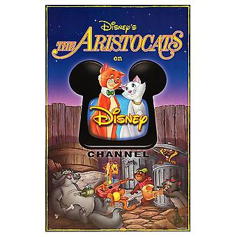The Aristocats Original Disney Channel TV Poster