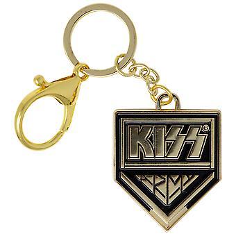 KISS Gold Logo Schlüsselanhänger