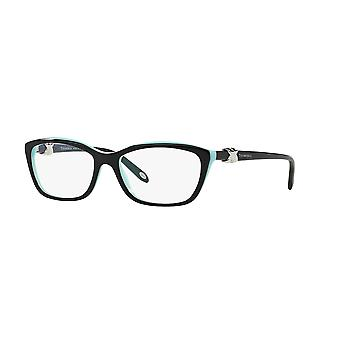 Tiffany Signature TF2074 8055 Top Black on Tiffany Blue Glasses