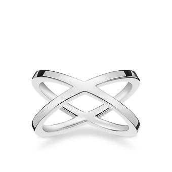 Thomas Sabo Sterling Silver Thomas Sabo Ladies Glam And Soul Sterling Silver Ring TR2139-001-12