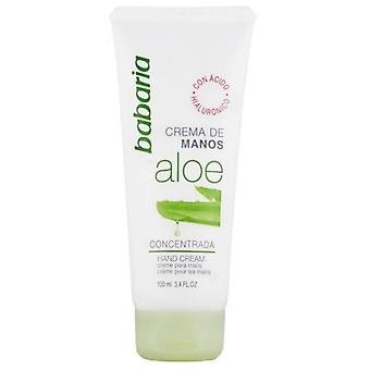 Babaria Aloe Concentrated Hand Cream 100 ml