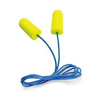 3M Peltor Sport Blasts Disposable Earplugs, Corded, 2-Pair, Neon Yellow #97081