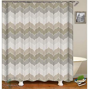 Pastel Grey Shower Curtain