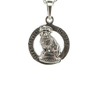 "Skye Scozzese Greyfriars Bobby Terrier Dog Collana Ciondolo - Include un 16&"" Silver Chain"