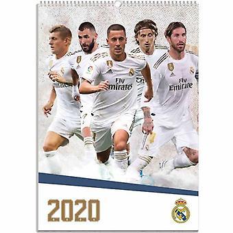 Real Madrid Calendar 2020