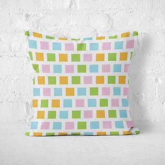 Meesoz Cushion Cover - Squares Colourful
