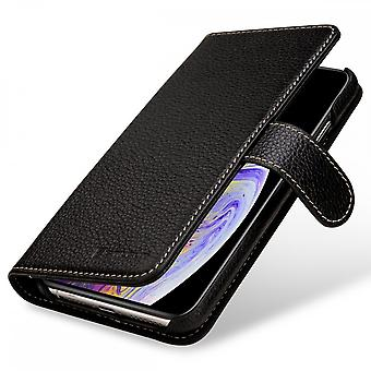 Case For IPhone Xs Max Wallet Talis Leather True Black