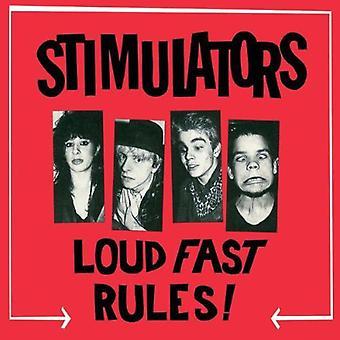 Stimulators - Loud Fast Rules! [Vinyl] USA import