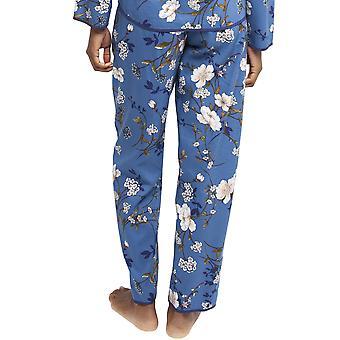 Cyberjammies 4368 femei ' s Heather albastru floral print bumbac Pyjama pant
