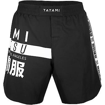 Tatami Fightwear Worldwide Jiu-Jitsu Fight Shorts - Black