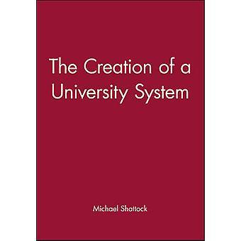 Yliopiston paineistettuna Michael Shattock - 97806312030 luominen