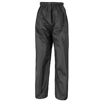 Result Core Kids/Childrens Unisex Stormdri Rain Over Trouser / Pants