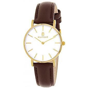 Watch Black Oak BX42002G-105 - Dor woman White Dial steel case Brown leather