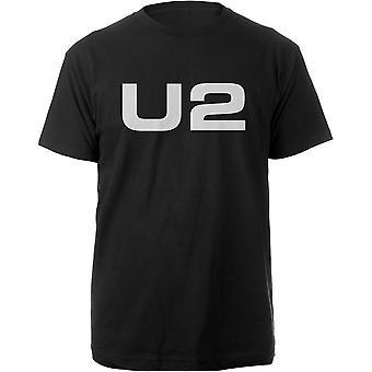 U2 logo Bono Edge virallinen T-paita