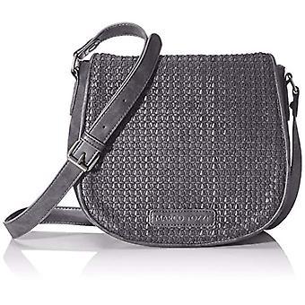 Marco Tozzi2-2-61020-23 Women's Strap Bag (Black Antic)10x21x25 centimeters (B x H x T)