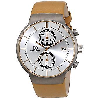 Reloj de pulsera de cuarzo para hombre-cuero de diseño danés 3316342